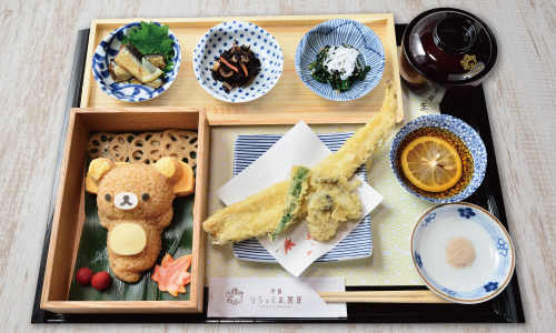 人気キャラクターカフェ「宮島 りらっくま茶房の人気メニュー」